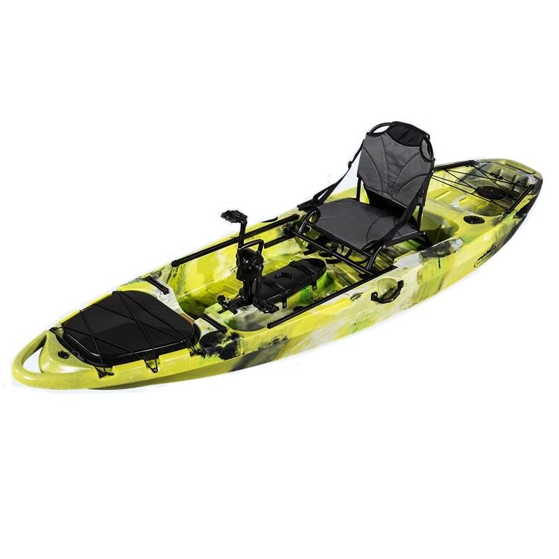 Skf pedal power 10 salento kayak fishing for Pedal drive fishing kayak